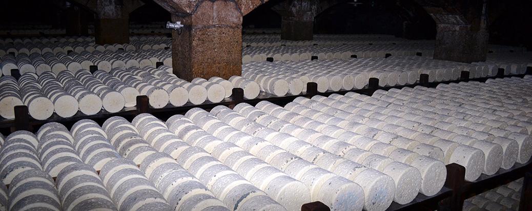 Roquefort i grotterne