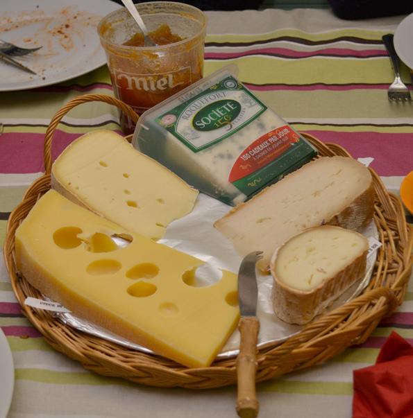 Gode oste til middag