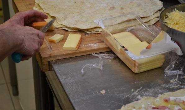 Skiver af raclette