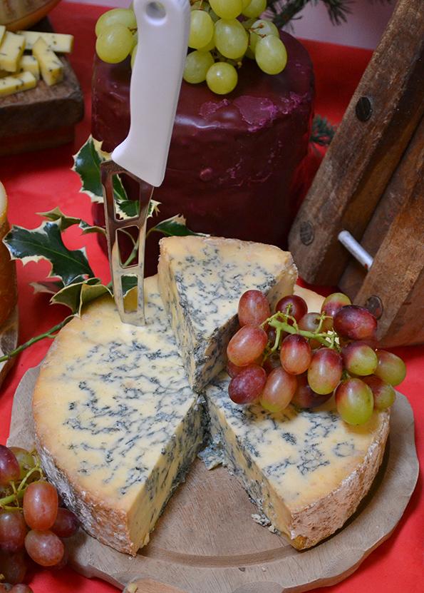 Stilton på ostebordet