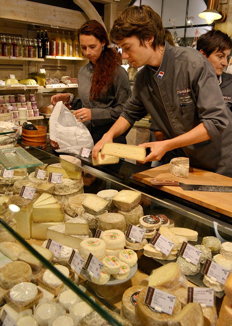Ostehandler i Annecy