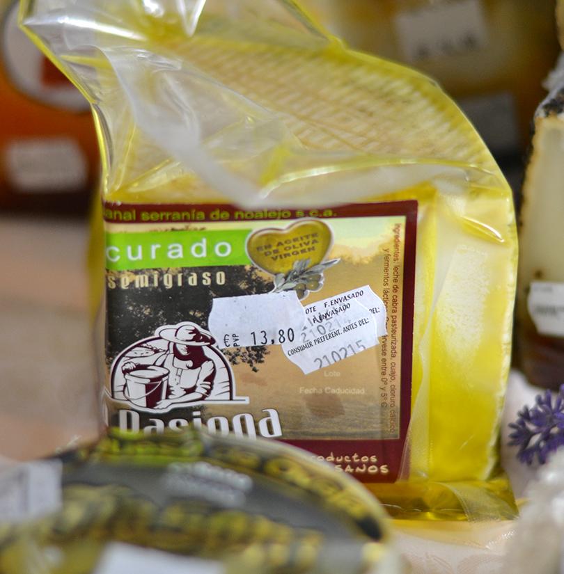 Curado i olivenolie