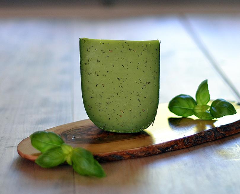 Grøn pestoost