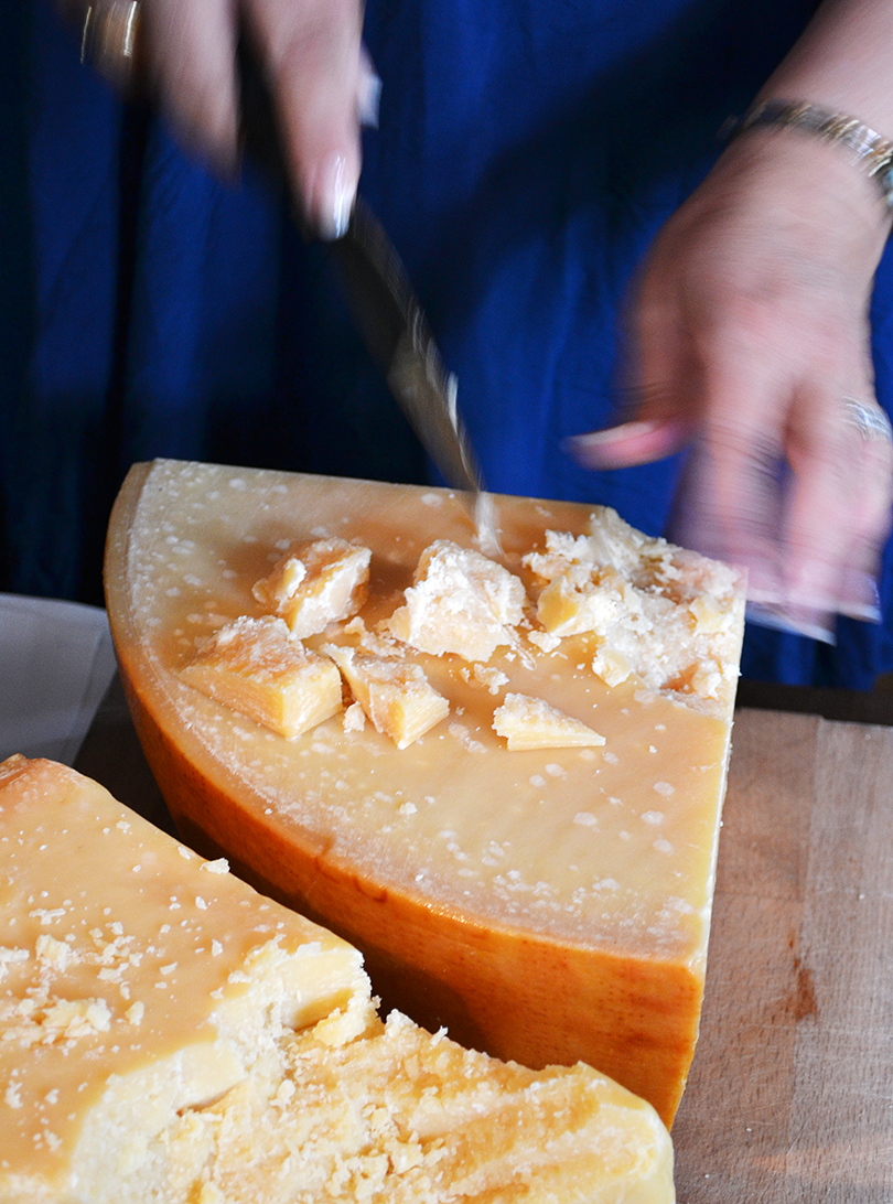 Sådan bryder du osten