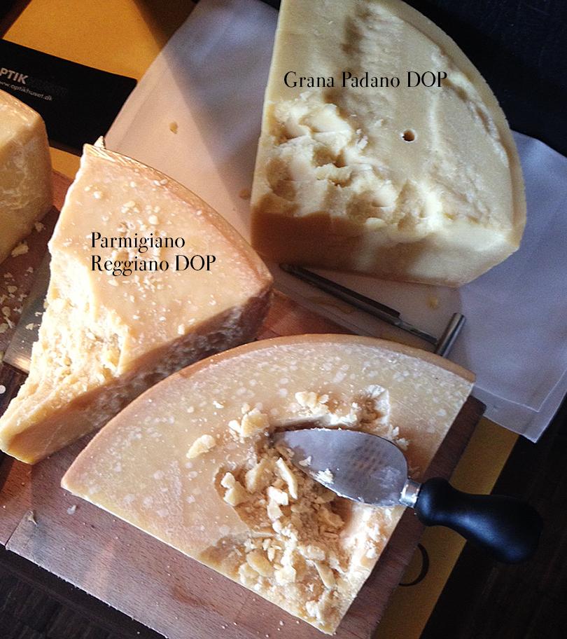 Parmesan og Grana