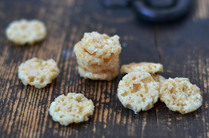 Grana Padano chips