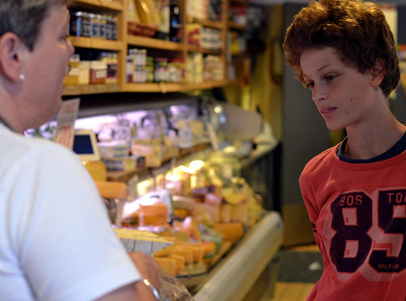 Nevø hos ostehandler