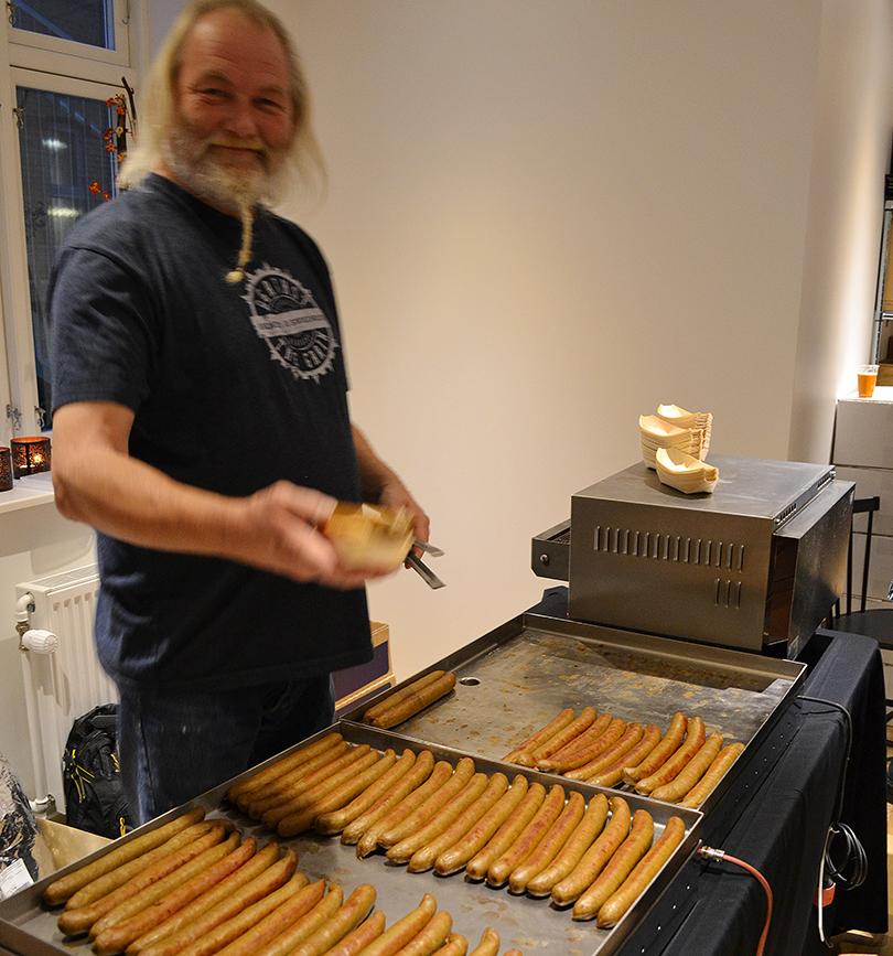 Hotdogs med havgus