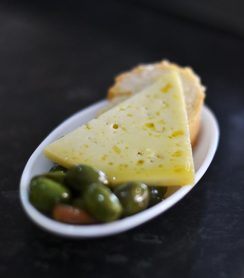 Spansk ost i olie