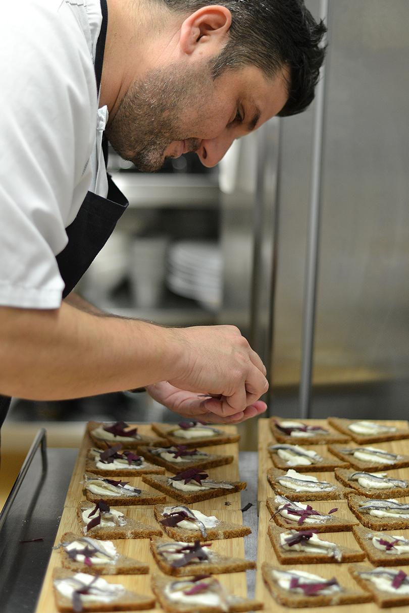 Theodoro pynter smørrebrød