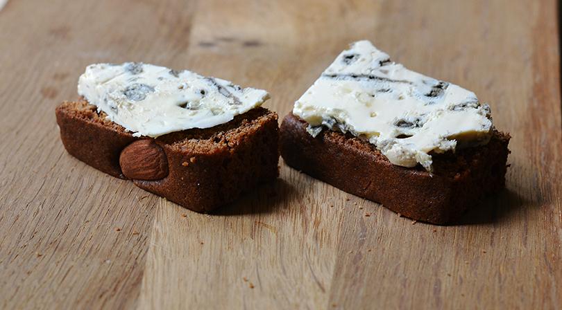Honningkage med blå ost