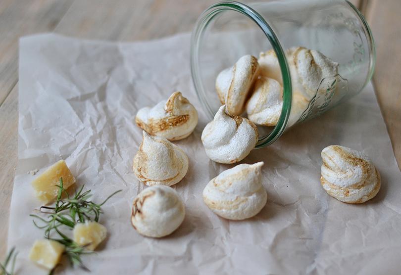 Marengs med parmesan