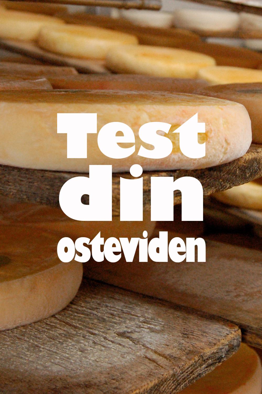 Test din osteviden