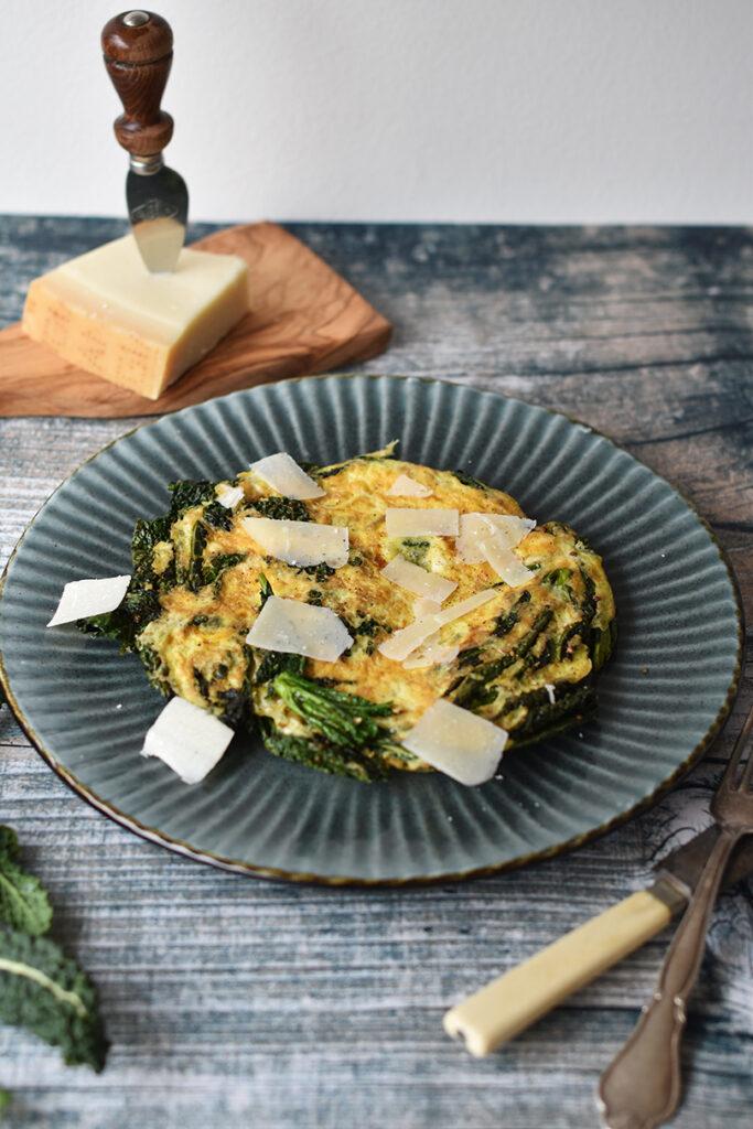 Omelet parmigiano reggiano