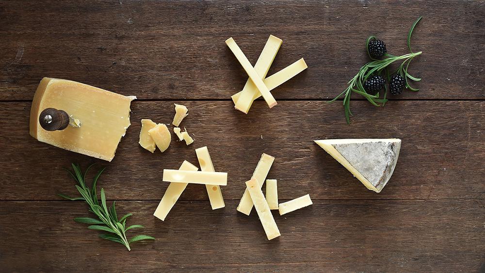 Osteskole gul ost